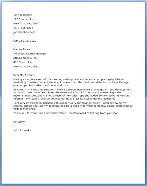 Cover Letter Sample Returning Previous Employer Cover Resume Cover Letter For Resume Sample Resume Cover Letter Job Cover Letter