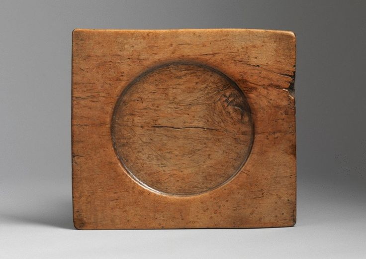 England   Solid Sycamore Platter   Circa 1580