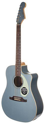 "Fender Limited Edition Sonoran SCE Acoustic Electric Guitar - Ice Blue Metallic. Limited Edition Ice Blue Metallic - Only 50 Made World Wide. Solid Spruce Top with Laminated Mahogany Back and Sides. Scale Length:25.3"" (643 mm), Nut Width 1.69"" (42.9 mm). Fishman® Isys III System with Active Onboard Preamp and Tuner with Built-In Chromatic Tuner with On/Off Switch, Volume, Bass, Mid, Treble. Fender® Stratocaster® Headstock Shape, Matching Painted Headstock, Fender Tight Dreadnought Body…"