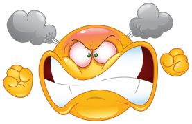 angry emoticon sticker