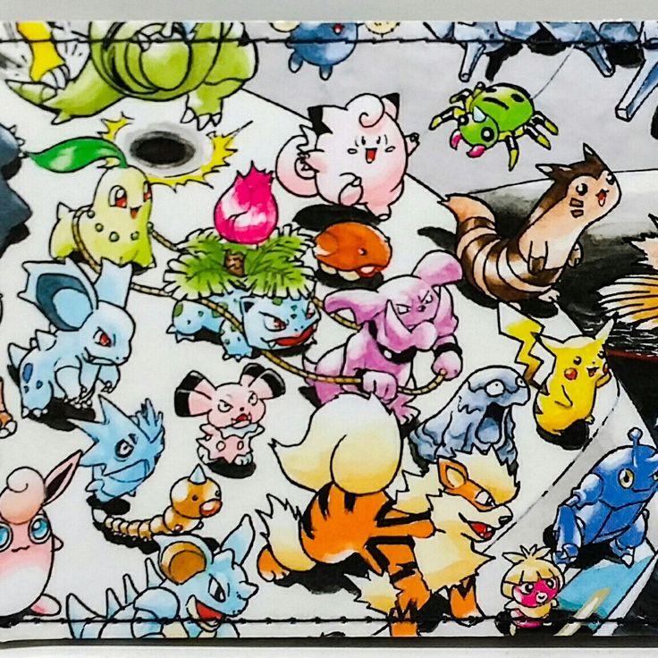 Pokemon wallets at DuctTuff.com  #ComicBookWallets  #Pokemon