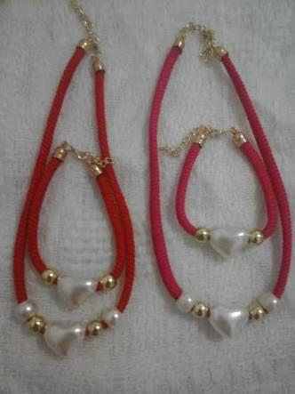 4688d0d0cafa Resultado de imagen para pulseras de perlas de color rojo