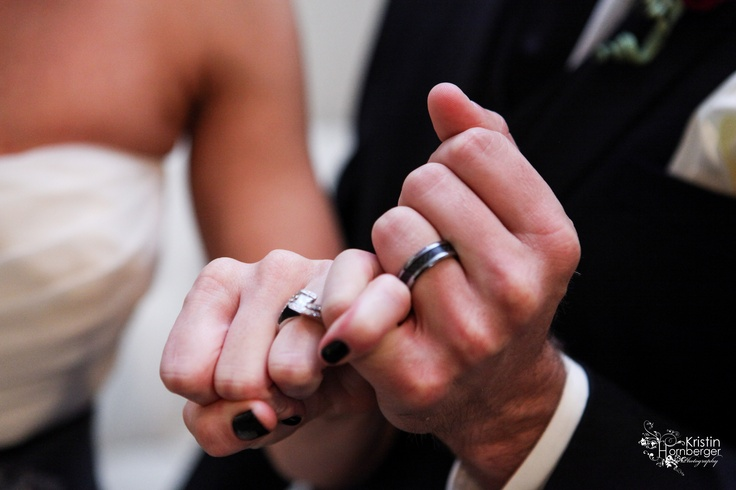 Shelbi + Joey:  Pinkie swear ring picture.  #Ring #Wedding #Indy