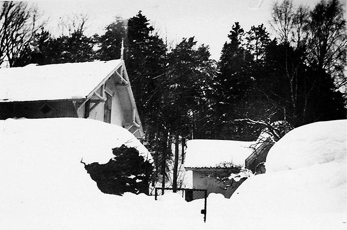 Det gamle sveitserhuset frå 1890-talet