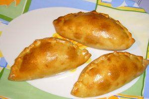 Фото к рецепту: Кокроки. (печёные пирожки из пресного теста)