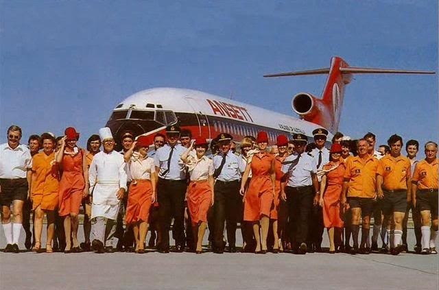 Ansett Airlines... they are no longer, but they seemed invincible way back when.