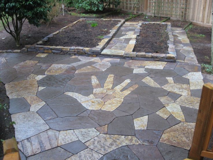 diy flagstone walkway 31 best patio images on pinterest flagstone walkway walkways