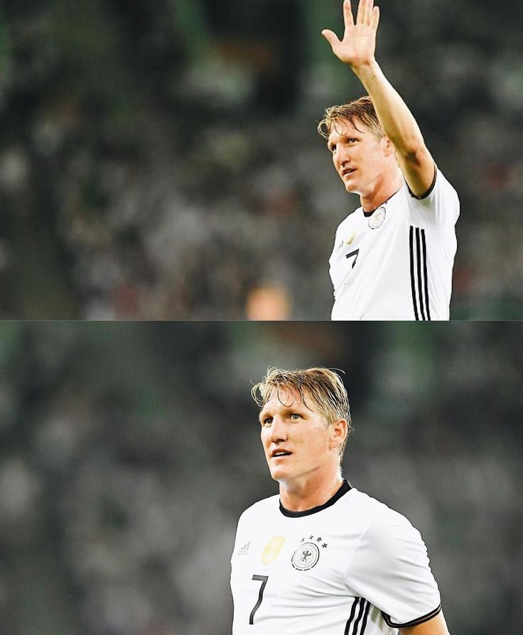 """302 Likes, 2 Comments - DFB-Team (@germany_nt) on Instagram: """"Standing ovation for Schweinsteiger as he comes off. Julian Weigl is on, replacing Basti. …"""""""