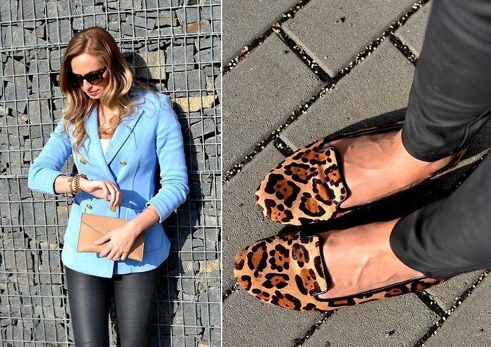 outfit Michael Kors watch, steve madden shoes, leopard shoes, nude clutch, michael kors sunglasses www.stylecookbook.cz