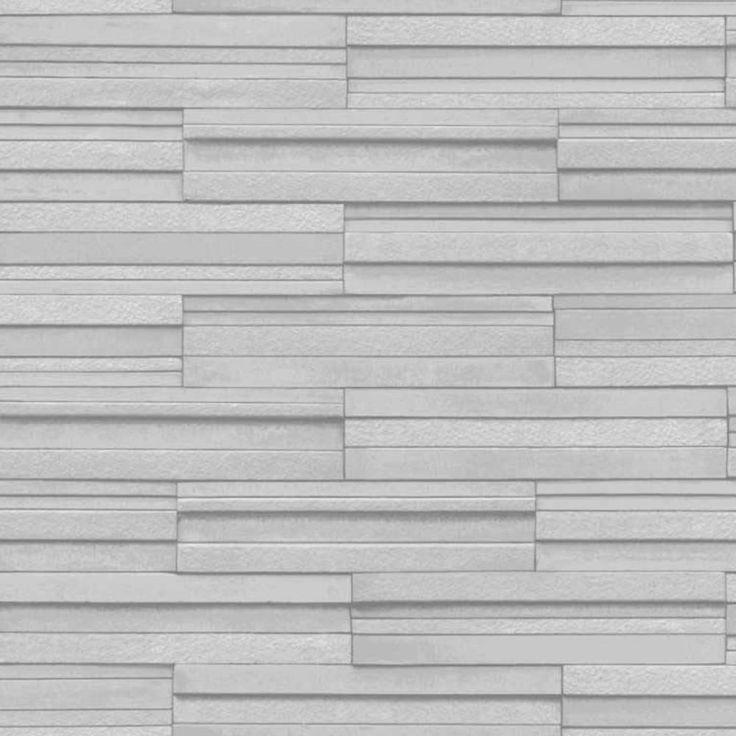 fine decor ceramica slate tile washable wallpaper grey fd40127