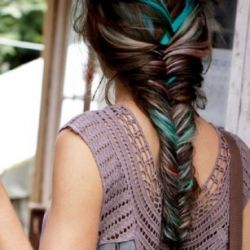 Fishtail braids : inspiration + how to make them