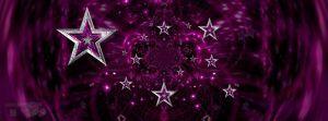 Stars Facebook Timeline Banner - Pink by JSSanDA