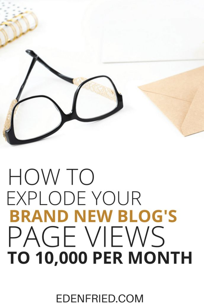 How to get 10000 pageviews to a brand new website