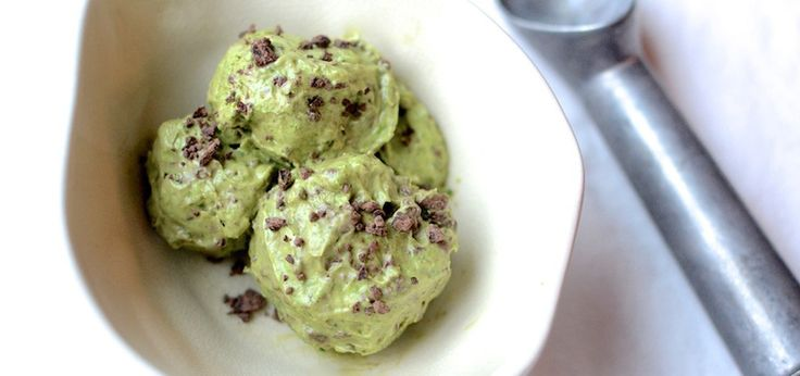Dairy-Free Mint Chocolate Chip Ice Cream