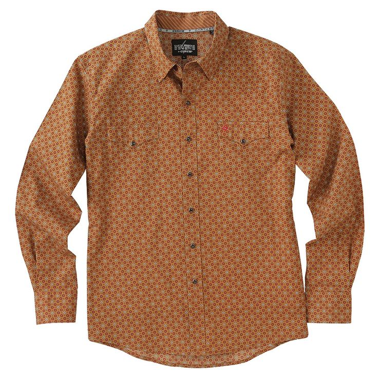 Garth Brooks Sevens by Cinch Print Pattern Western Shirt
