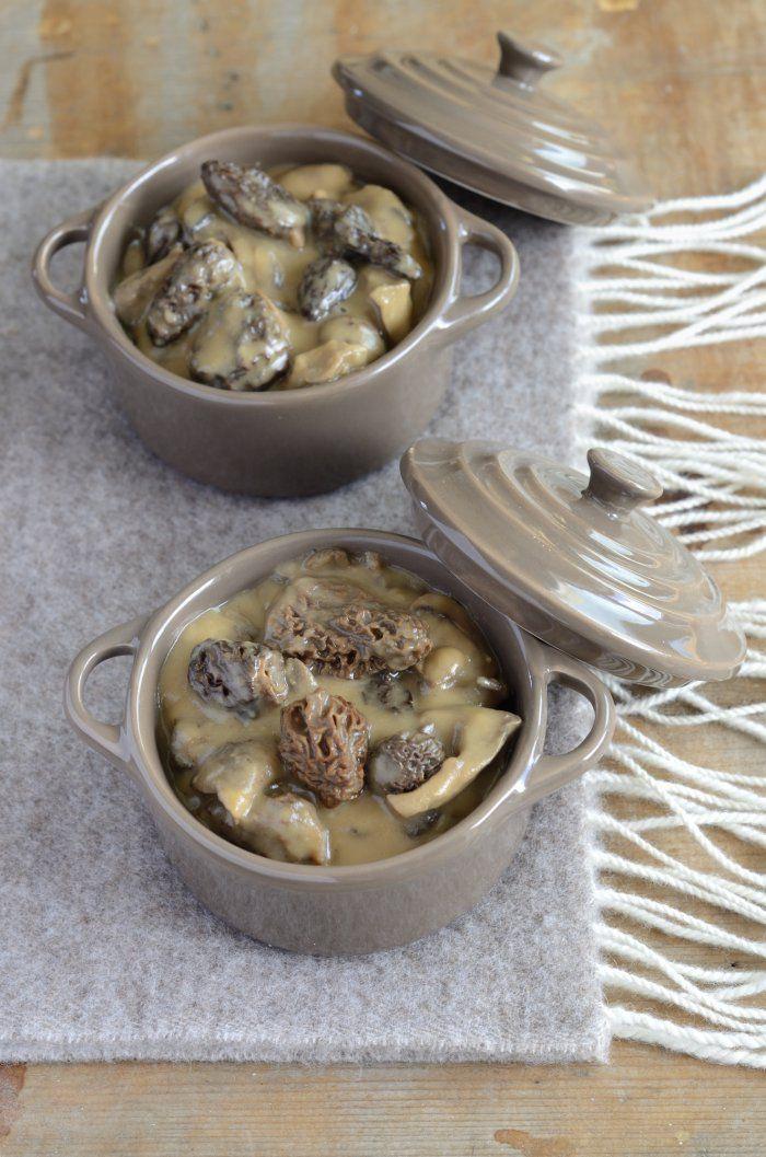 Cocotte+de+ris+de+veau+aux+champignons