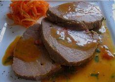 Una recetilla andaluza de carne de ternera mechada.