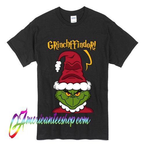 Grinchffindor Santa Claus Christmas T Shirt