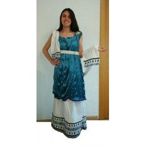 Disfraz romana dómina talla l
