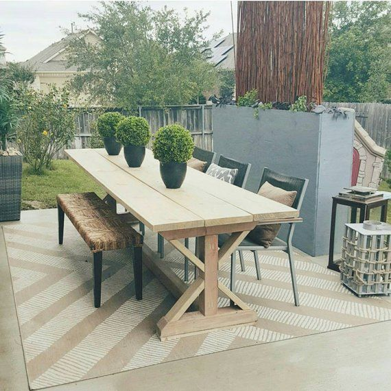 X Style Outdoor Patio Dining Table Patio Dining Table