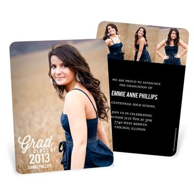 45 best Graduation Announcements images on Pinterest Senior