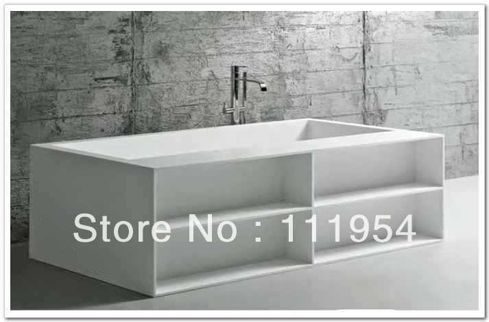 Bathtubs Rectangle Modern Bathtub On Discount Us 890 00