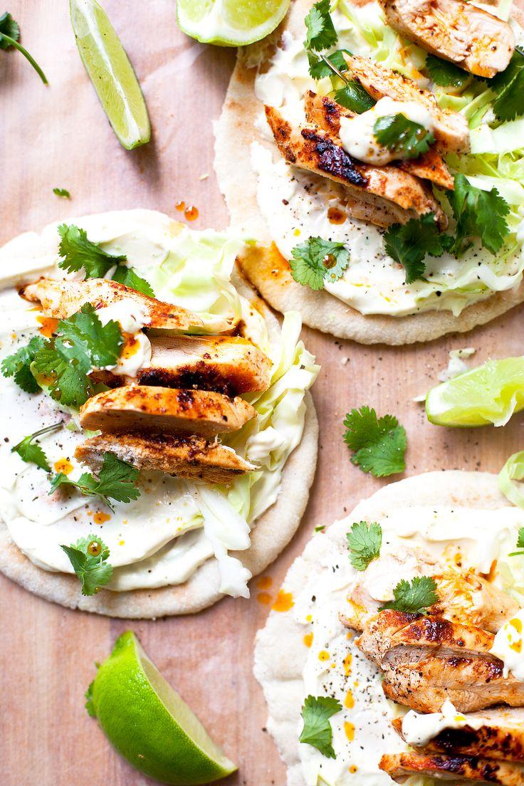 Cajun Chicken Pitas