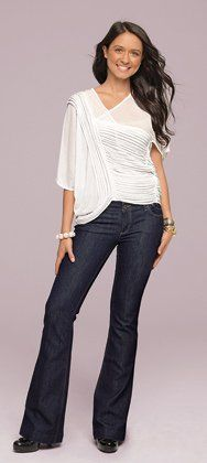 Make your body look great, no matter the size or shape, with our super flattering and cute jeans! We have styles for all body types including curvy, pear, apple and petite bodies. You'll these jeans that are stylish and flattering.