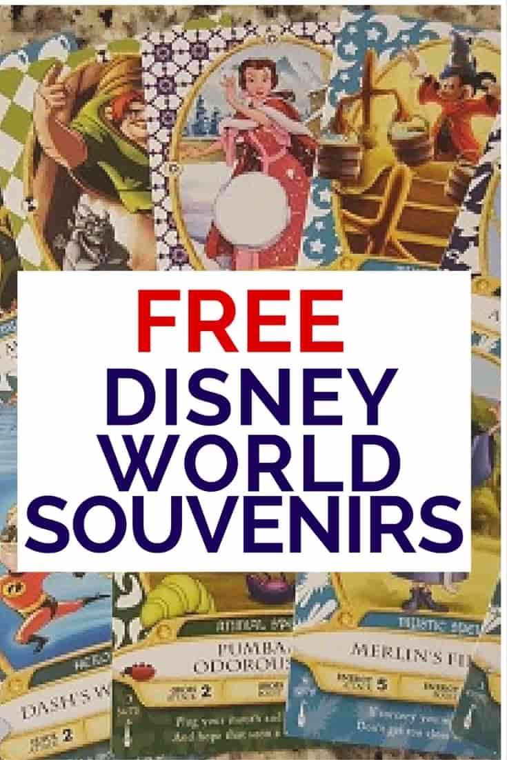 Bet you didn't know there are FREE Disney World Souvenirs! And they are good ones too! via @disneyinsider