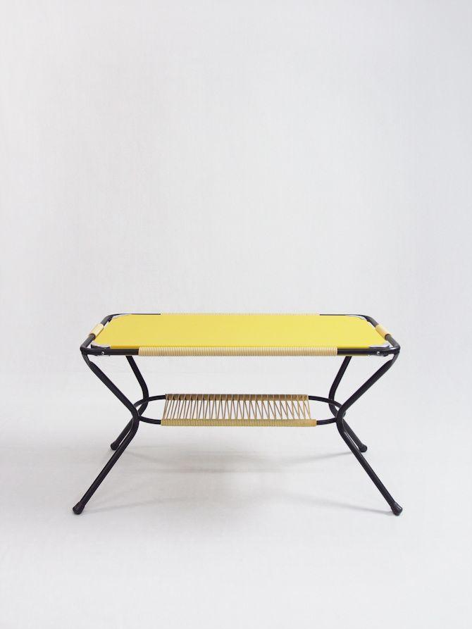 Mesa amarilla scoubidou - Passeu, Passeu