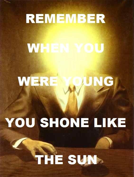 Shine On You Crazy Diamond- Pink Floyd / The Pleasure Principle (Portrait Of Edward James) - René Magritte