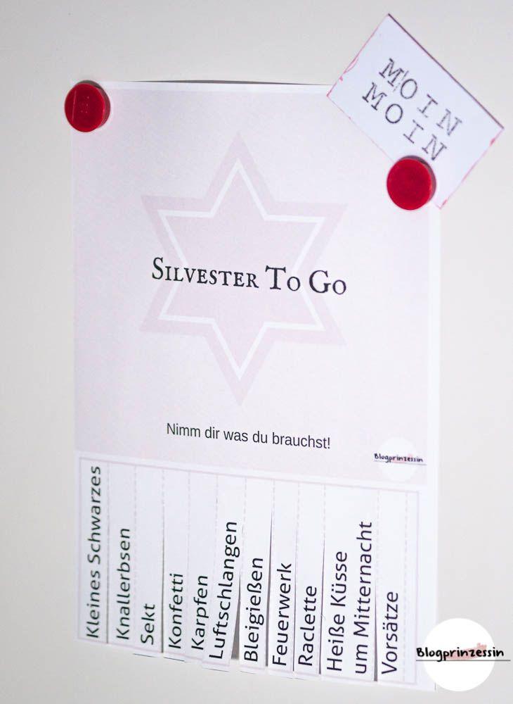 Silvester Printable