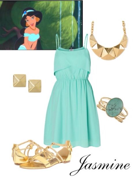 Disney Princess Jasmine Inspired Outfits