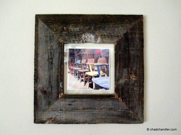 26 best Wood plank picture frames images on Pinterest   Picture ...
