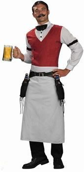 Men's Old Fashioned Bartender Costume Adult Plus - Plus Size