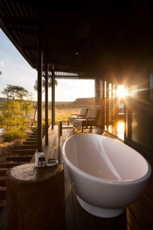 One of the suites at El Questro Homestead in the Kimberley region of Western Australia.