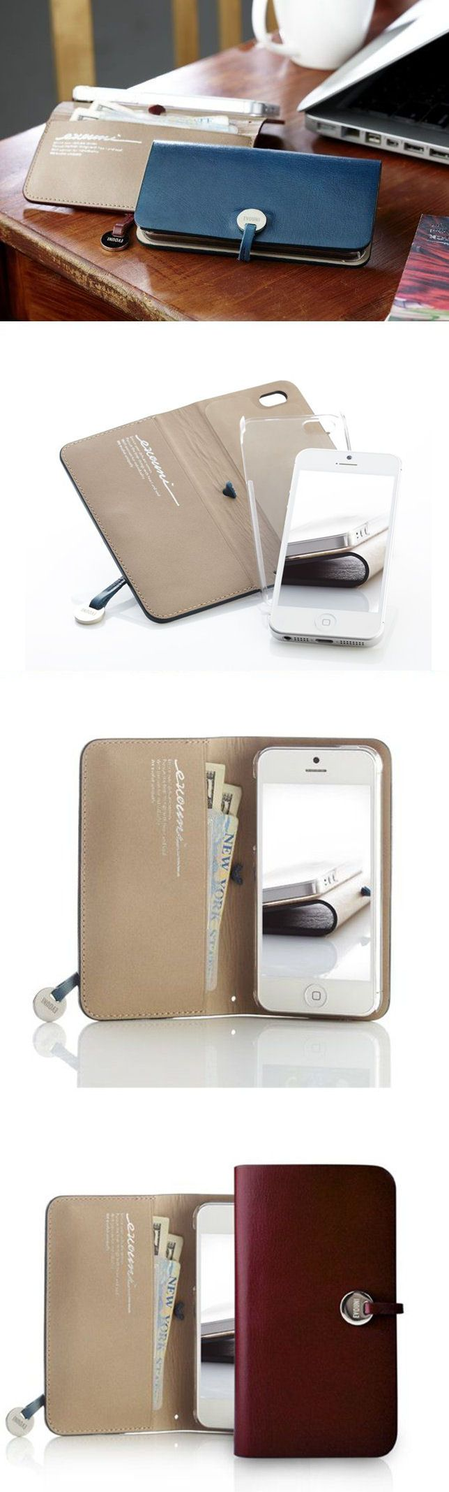 iPhone 5 Leather Wallet <3