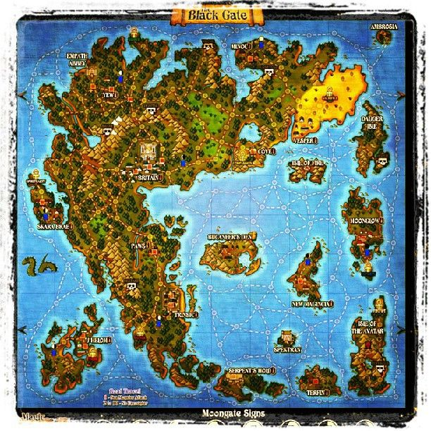 The World Maps For The Ultima Project Have Been Updated Http - Us map dragon