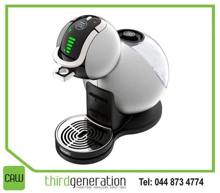 The #DolceGusto coffee machine is designed to make sure every sip you take of the delicious drinks oozes quality and style. Available from #ThirdGenerationCAW. Visit us or contact us on 044 873 4774.