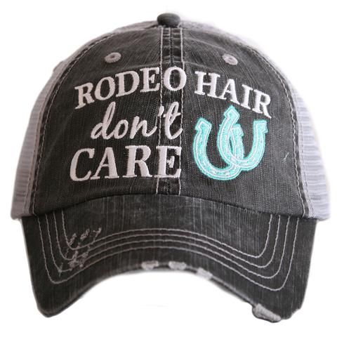 Rodeo Hair Don't Care Hat Mint $22
