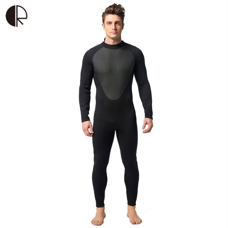 SO573 3mm Neoprene Scuba Dive Wetsuit For Men Spearfishing Wet Suit Surf Diving Equipment Split Suits Spear Fishing S-XXL