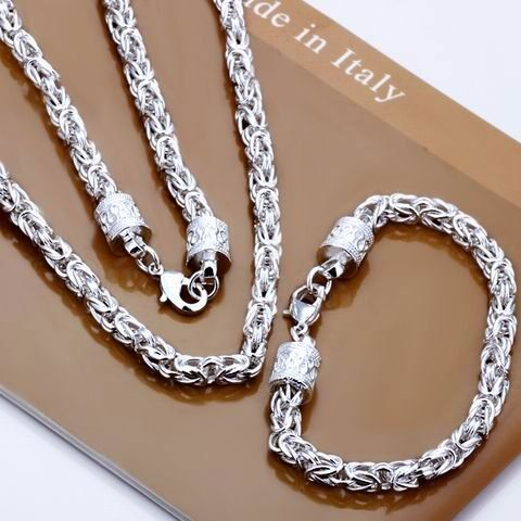 Cheap jewelry crystal, Buy Quality jewelry necklace directly from China jewelry trendy Suppliers: 	Description:			925 sterling silver jewelry set				 1. one piece necklace+1 piece bracelets				  2.&