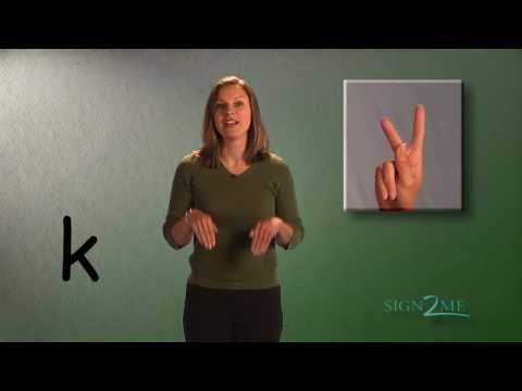 Learning ASL: The Alphabet