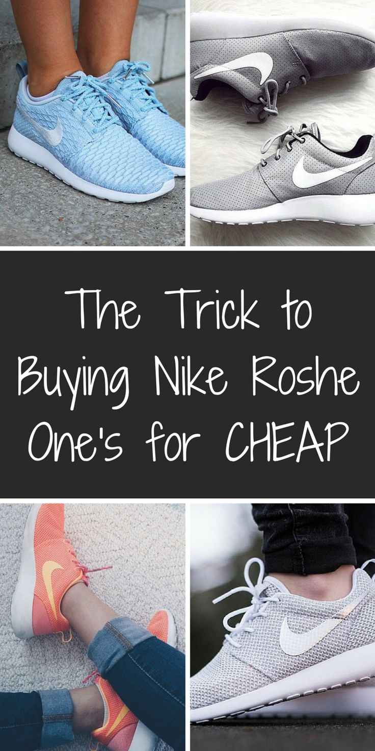 Obsessed with Nike Roshe Ones? Find your favorite styles and colors on Poshmark at up to 70% off retail. Click or tap the image to download the free app now. As featured in Cosmo, WWD, and Good Morning America.