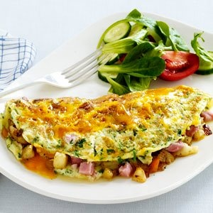 Healthier Hearty Omelet: Healthy Omelets, Omelets Recipes, Breakfast Ideas, Home Fries, Hearti Omelets, Cut Outs, Breakfast Recipes, Healthier Hearti, Breakfast Brunch