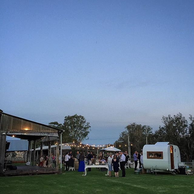 Alverstoke Barn by evening for Kate & Andy's wedding via @mableandco This venue is a favourite just one and half hours drive south of Perth . . Visit www.theweddingnetwork.com.au/alverstoke for availability . #perthweddings #thisiswa
