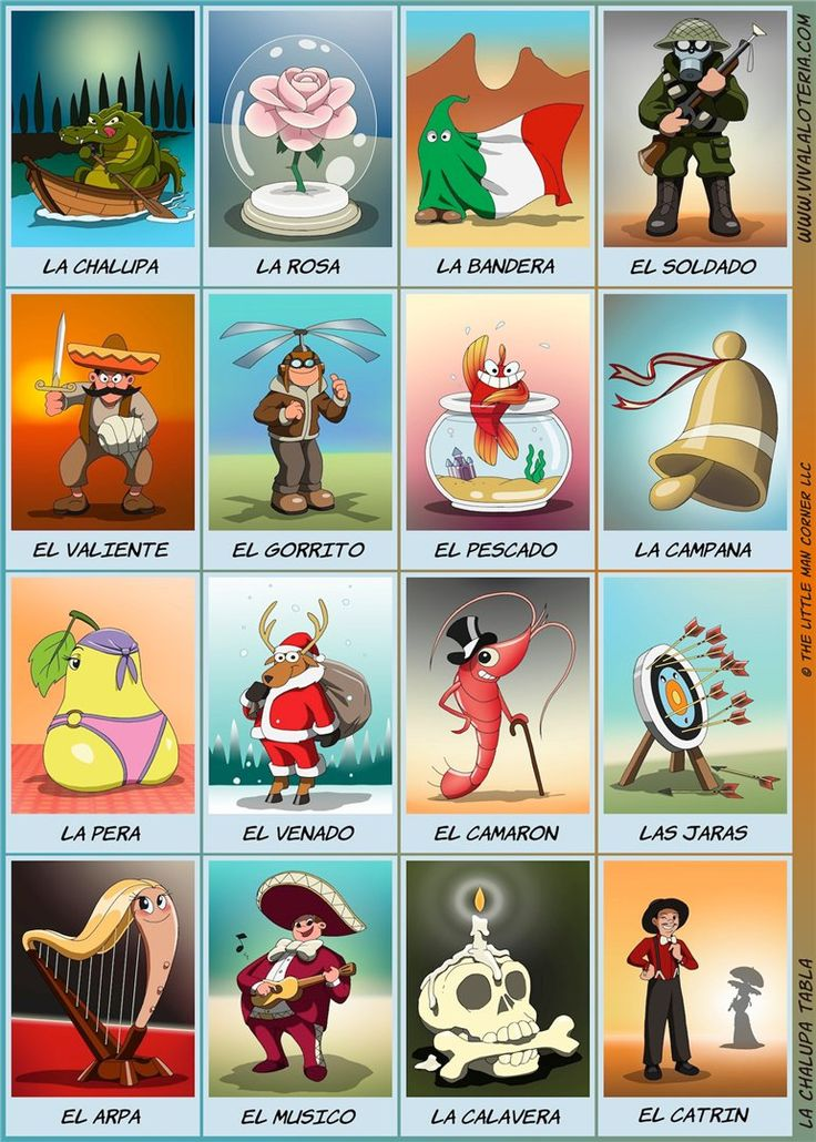 Loteria deck online, free
