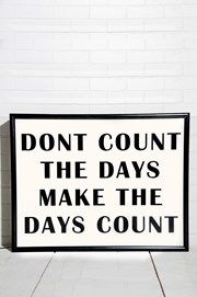 Bxxlght - Don't count the Days... - Inredning Hemmet