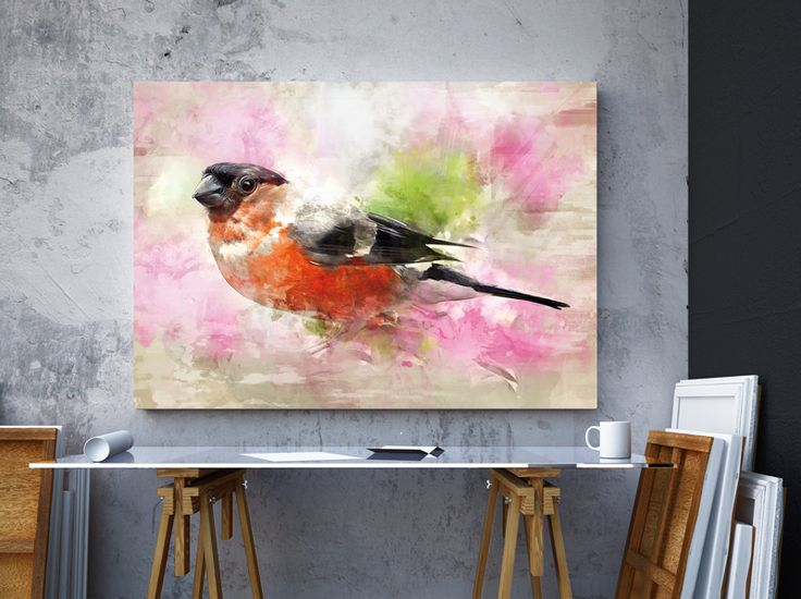 Our Birdie  by Hog Studio #birdie #colors #canvas #interiors