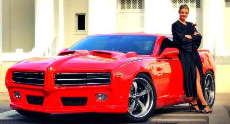 2016 Pontiac GTO concept  red design